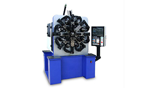 Introduction to the basic working principle of the spring machine